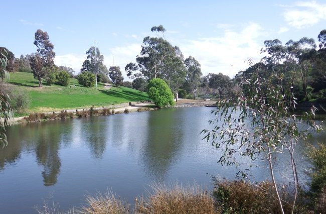 The GPT model CLT-P002c was custom designed and constructed for the Kalparrin Gardens Stormwater Harvesting Project. The GPT prevents litter from moving into the wetland and lake system.
